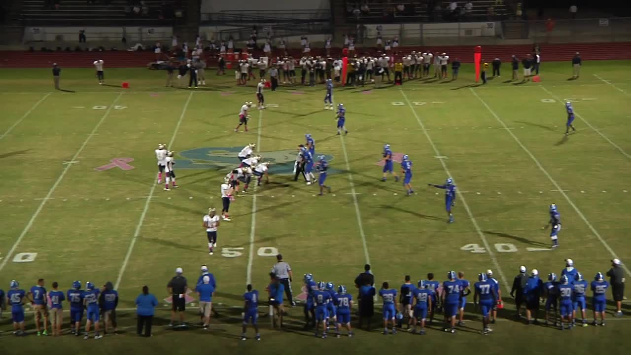 sebastian river high school vs  eau gallie