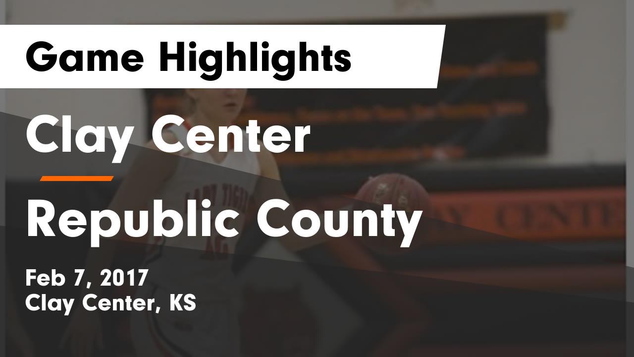 Kansas republic county agenda - Clay Center Vs Republic County Game Highlights Feb 7 2017
