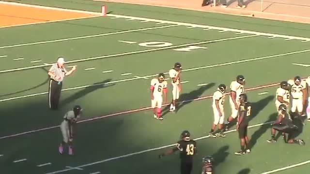 Durrell Mackey Playing Football Against Mitchell High School - Mitchell high school memphis tn