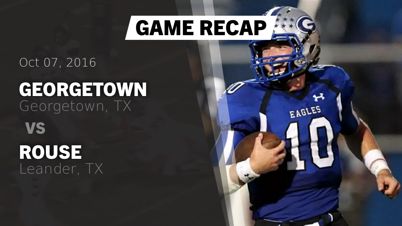 on sale a1e77 59fa1 Georgetown HS Football Video